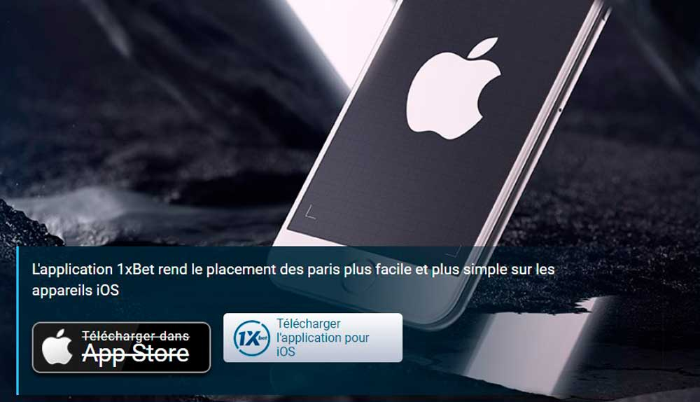 Télécharger 1xbet mobile iPhone